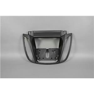 2013-2015 Ford Escape Radio Dash Trim Bezel w/ Flat Black Trim