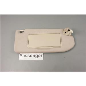 2008-2013 Infiniti G37 Passenger Side Sun Visor with Lighted Mirror Extend Panel