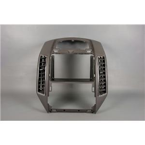 Ford Edge Radio Climate Dash Bezel 2007-2010 with Vents, Chrome Trim