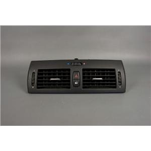 2004-2010 BMW X3 Dash Vent Trim Bezel with Vents, Hazard and Power Lock Switch