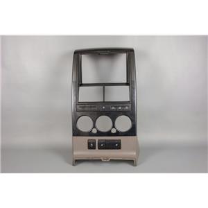 06-10 Ford Explorer Center Radio Climate Bezel w/ Pedal Adjust & Heated Seats
