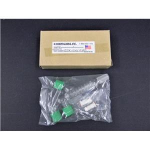 New: Chemglass GSK-0201-183H Friedrichs Condenser 14/20 Bottom 3-Joints GL-14