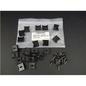 Used: Lot of 11 Sets Chemglass New Style Clamp Holders GSK-0311-102JS