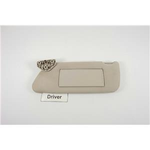 2006-10 Hummer H3 OEM Driver Side Sun Visor with Covered Mirror and Extend Panel