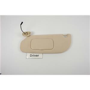2006-2010 Ford Explorer Driver Side Sun Visor w/ Lighted Mirror Adjust Bar