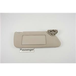 2006-2010 Hummer H3 Passenger Side Sun Visor w/ Covered Mirror & Extend Panel