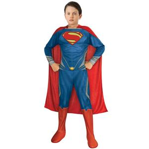 Rubie's 886890 Boy's Man of Steel Superman Child Costume Size Large 12-14
