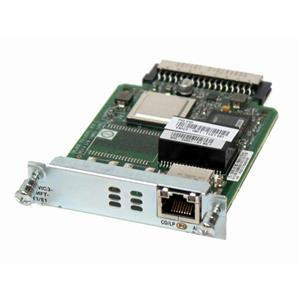 Cisco VWIC3-1MFT-T1/E1 1-Port T1/E1 Multiflex Trunk Voice/WAN Interface Card