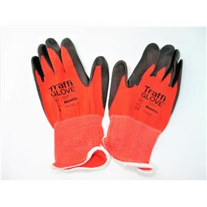 Traffiglove TG 100-7 Nimble Cut 1 Red Work Gloves Size Small New Qty 10