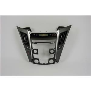2011 Hyundai Sonata Radio Climate Bezel wtih Vents and Hazard Switch