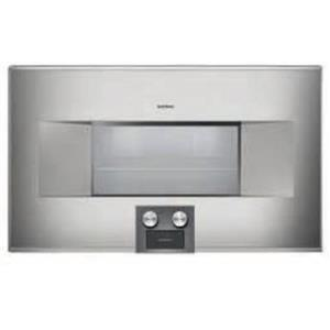 "Gaggenau 400 Series BS464610 30"" 1.5 cu ft Capacity Combi-Steam Oven Stainless S"