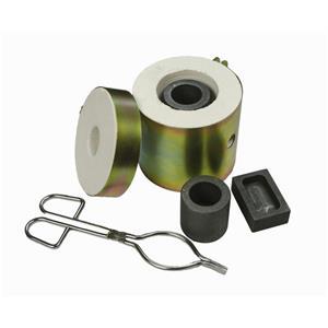 Fast Furnace Tongs-Flux 5oz Mold-Gold & Silver Melting Kiln - Mini Propane Gas