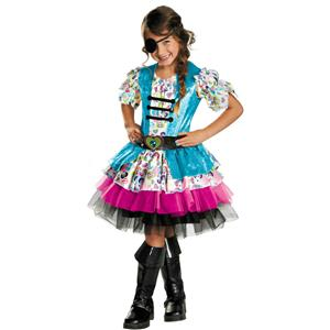 Disguise Playful Pirate Toddler Girls Child Costume XS 3-4T