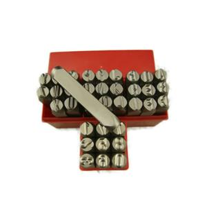 "3/8""  10MM Letter & Number Punch Stamp Set Metal-Steel-Hand A-Z *BIG SIZE* 36Pcs"