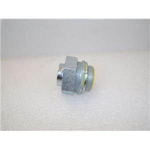 "Hubbell-Raco 3408-8 Liquid Tight 2.0"" DC Diecast Zinc Connector Type B"