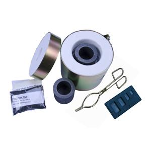 Gold &Silver Melting Kiln Tongs Crucibles 4 Cavity Mold Mini Propane Gas Furnace