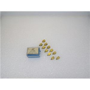 (11) Clippard 10-32 Solid Brass T-Fitting 150002-3