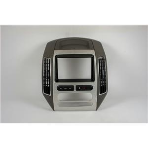 2007-2010 Ford Edge Radio Automatic Climate Control Dash Trim Bezel w/ Vents