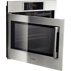 """Bosch Benchmark Series 30""""  4.6 cu. ft SS Single Electric Wall Oven HBLP451LUC"""