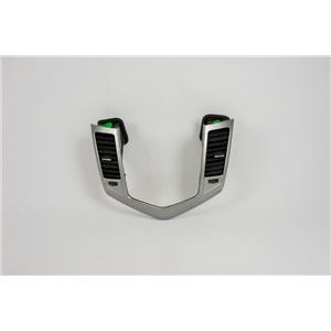 2011-2014 Chevrolet Cruze Radio Dash Trim Bezel with Vents Silver Pattern LTZ