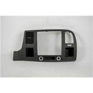 2007-2013 Silverado Sierra 1500 Radio Climate Dash Trim Bezel with Vent and 12V
