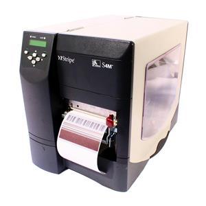 Zebra S4M S4M3N-2001-4100D Direct Thermal Barcode Label Printer USB Peel Rewind