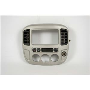 2001-2007 Ford Escape Radio Climate Dash Trim Bezel with 12V Rear Defrost Vents