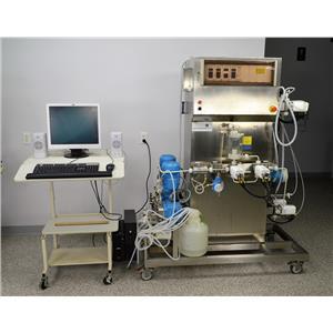 Amersham Chromatography Skid Bioprocess System Pharmaceutical GE AKTA