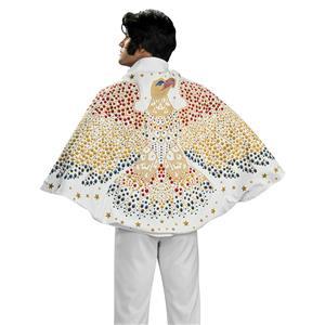 Rubie's 30 Inch Elvis Cape with Screen Printed Eagle Design Costume Accessory