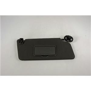 11-15 Ford Explorer Passenger Side Sun Visor with Covered Mirror and Adjust Bar