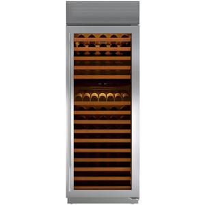 "Sub-Zero 30"" Dual Temp 147-Bottle Capacity Dual Zones Wine Storage WS30STHRH"