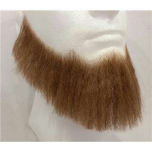 Light Brown Human Hair Full Character Professional Costume Beard 2024