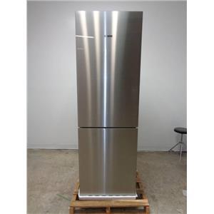 "Bosch 800 24"" 10.0 cu.ft. Counter-Depth Refrigerator Stainless/Glass B10CB80NVS"
