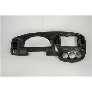 2001-2006 Mazda Tribute Dash Trim Bezel w/ Vents 12V, Mirror, AC & Hazard Switch