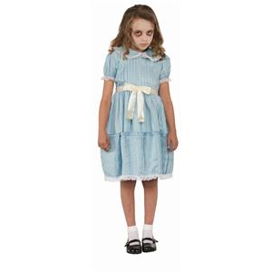 Forum Creepy Sister Grady Girls Child Horror Movie Costume Dress Size Large
