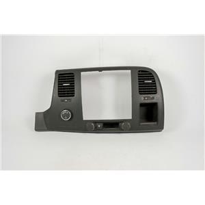 07-13 Silverado Sierra 1500 Radio Climate Dash Trim Bezel with Vents 4wd Switch
