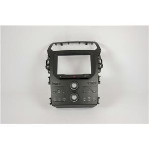 2011 2012 Ford Explorer Center Dash Radio Climate Bezel w/ Radio & INFO Controls