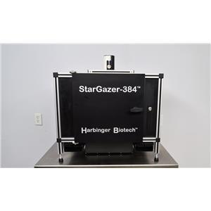 Used: Harbinger Stargazer 384 DLS QICAM QIC-F-M-12 Microplate Reader Imager Proteomics