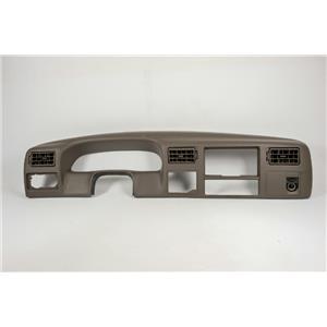 99-2004 Ford F250 F350 Super Duty Surround Dash Trim Bezel w/ Vents & 12V Outlet