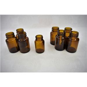 Used: Amber Threaded Reagent Bottles 30-60 mL for Siemens Walkaway 96 w/Warranty
