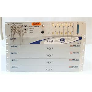 Lot of 5 Elbit, Shiron Satellite Comms InterSky MCD Multichannel Demodulators
