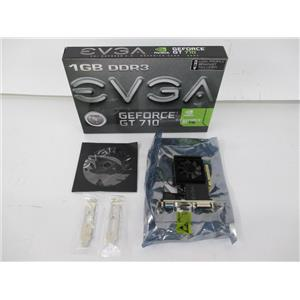EVGA 01G-P3-2711-KR GeForce GT 710 1GB Single-Slot Low-Profile Graphics Card