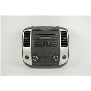 2009-2012 Nissan Xterra Radio Climate Controls Dash Bezel Hazard Switch Vents