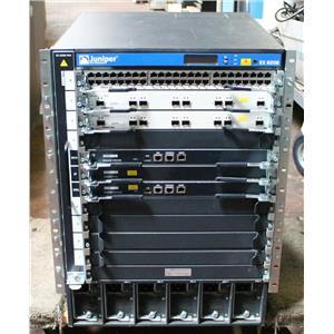 Juniper EX8208 8 Slot Ethernet Switch w 2x EX8208-SRE320, 2x EX8200-8XS, 6x PSU