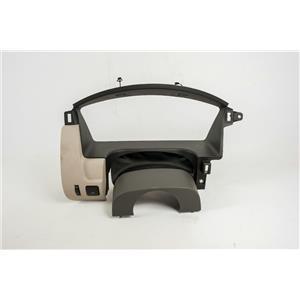 2010-2012 Ford Flex Speedometer Cluster Dash Bezel w/ Dimmer & Tailgate Switches