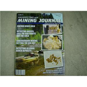 ICMJ's Prospecting & Mining Journal Magazine February 2017, GOLD!!! Chris Ralph
