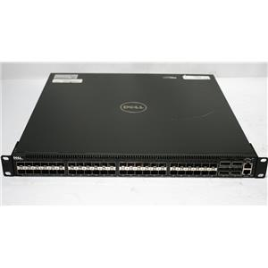 Dell Force10 S4810P-AC-R 48-Port 10GbE SFP+ 4-Pt 40GbE QSFP+ Dual PS Reverse Flo
