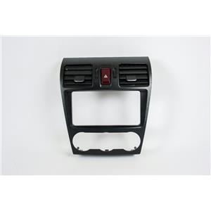 12-14 Subaru Impreza Radio Climate Dash Trim Bezel w/ Vents & Hazard Switch NAV