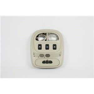 2002-2009 Trailblazer Envoy Overhead Console w/ Homelink & Rear Slider Controls