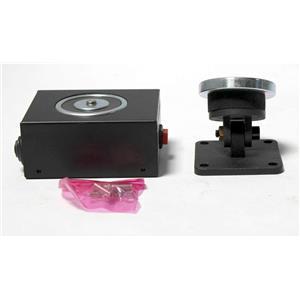 Electro Magnetic Door Holder MDH101 Single Door Release Button 12/24VDC Black